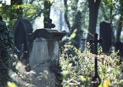 Olšany Cemetery, Prague Czech Republic | October 1991